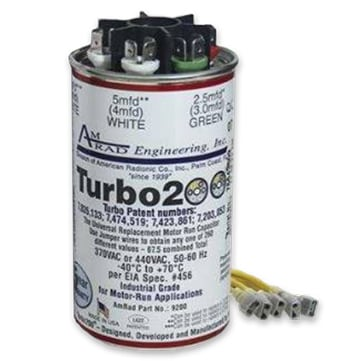 HVAC System Turbo Capacitor
